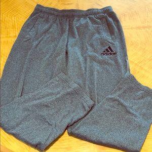 Men's large Adidas sweatpants
